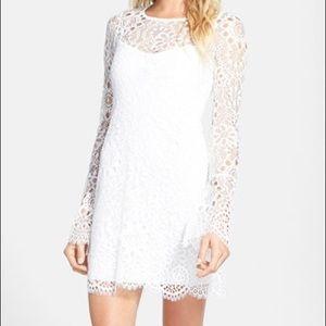 For Love and Lemons white LoveBird dress